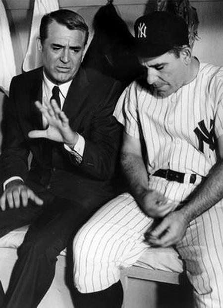 Cary Grant e Yogi Berra