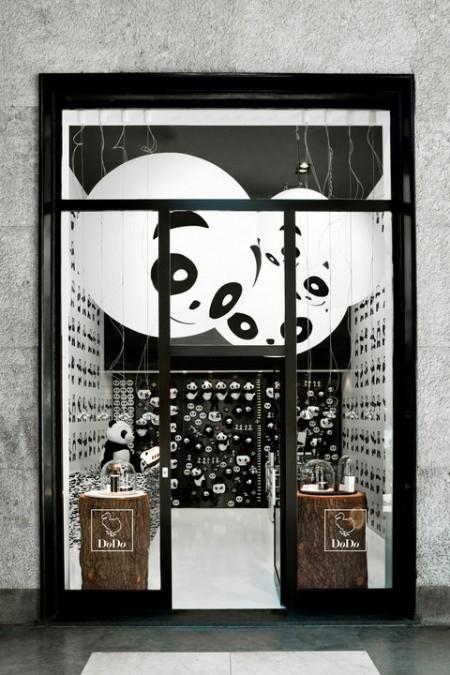 La vetrina del Temporary Store Dodo