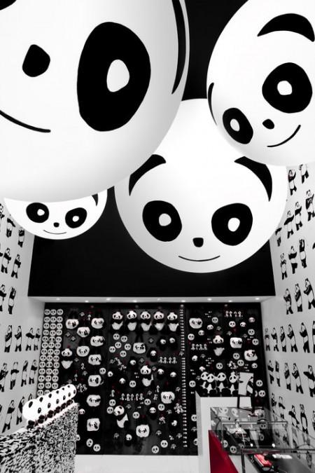 le sfere luminose del Temporary Store DoDo
