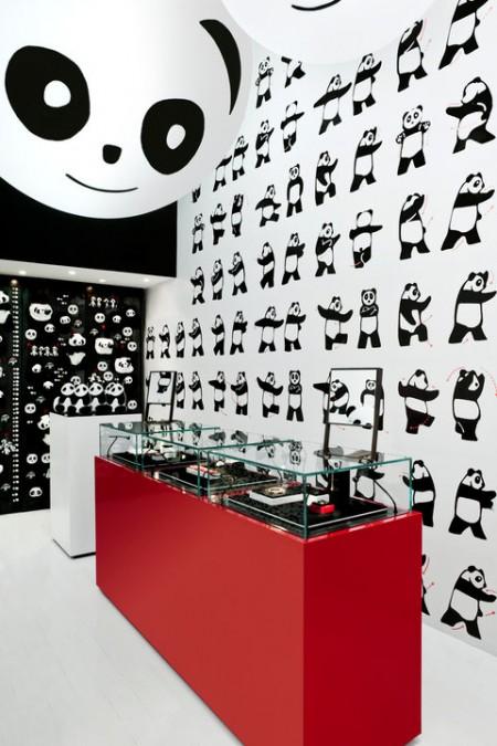 la sequenza di Thai-Chi Panda del Temporary Store Dodo