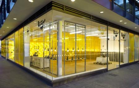 La vetrina del Temporary Store Dr.Martens di Londra