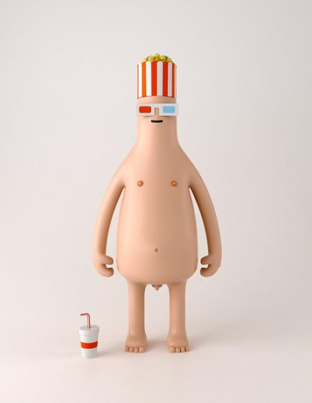 Mr. Pop Corn, uno dei personaggi della collezione Toys Series n.1 di Yum Yum