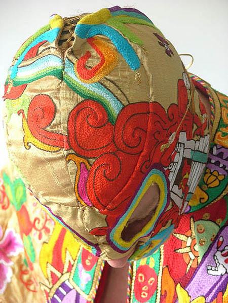 una maschera da luchador di Davide Gremard Romero - Francesco Catalano www.francescocatalano.it