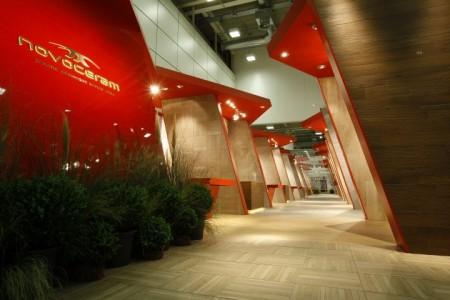 Lo stand di Novoceram al Cersaie 2011 Interior Design Francesco Catalano