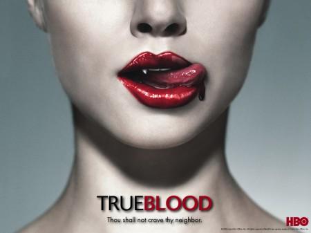 La locandina della serie TV True Blood