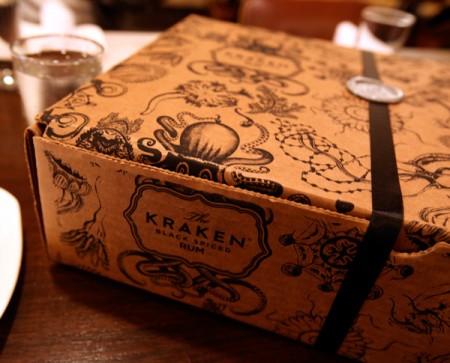 Kraken Rum box before unboxing - www.francescocatalano.it