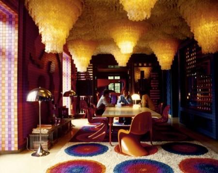 Panton House by Verner Panton, Binningen - 1972-87