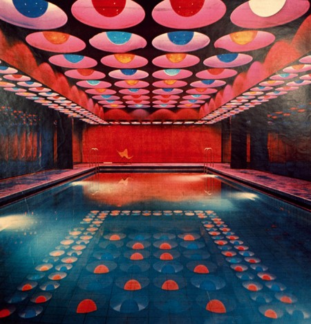 VERNER PANTON Spiegel Publishing House - Hamburg, Germania - Pool