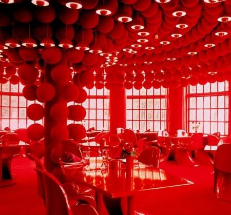 VERNER PANTON Varna Restaurant Arhus, Denmark