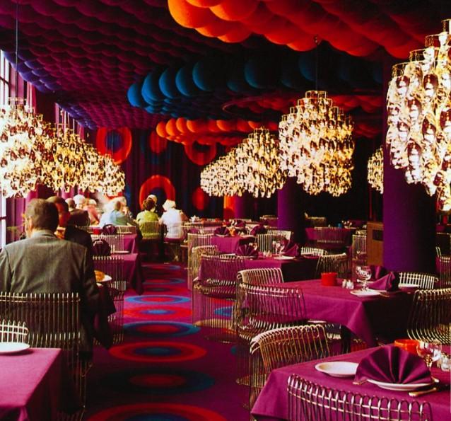 Il varna palace restaurant di verner panton ad arhus