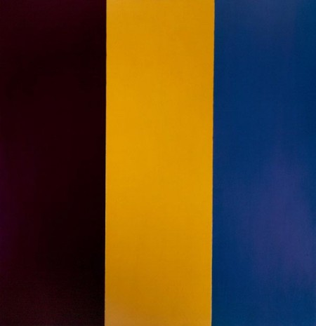 Red, Yellow and Blue by Brice Marden, 1974 - decluttering