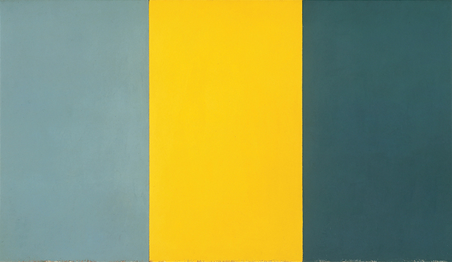 Summer Table by Brice Marden, 1972-1973 - decluttering