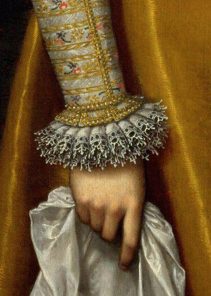 Mancinismo: mani nell'arte di Frans Pourbus