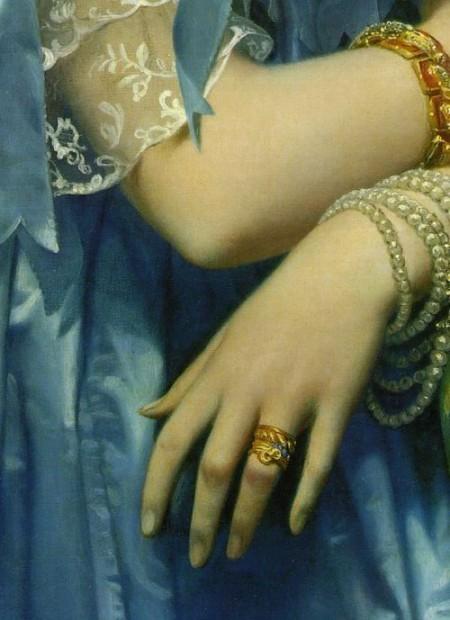 Mancinismo: mani nell'arte di Jean auguste Dominique Ingres