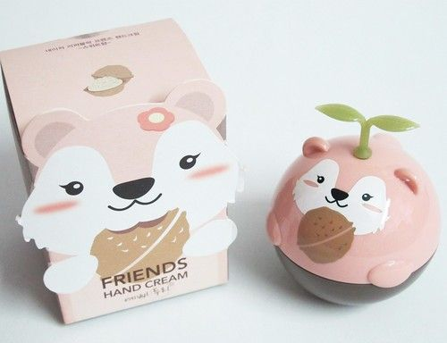 il packaging kawaii di una crema idratante