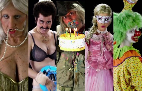 i 5 personaggi del video di Birthday di Katy Perry