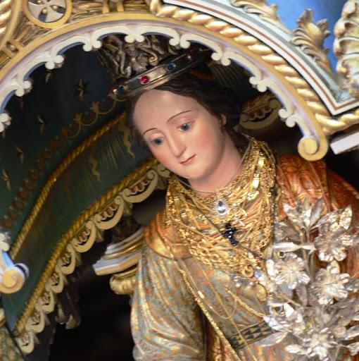 La statua di Santa Domenica