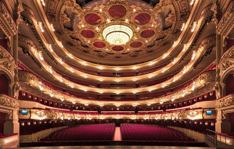 Gran Teatre del Liceu, Barcelona. Photography by Gilles Alonso - Carefully selected by Gorgonia www.gorgonia.it