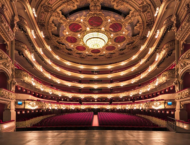 Gran Teatre del Liceu Barcelone by Gilles Alonso