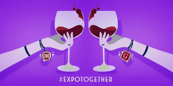 L'hashtag Expotogether lanciato da Fiat su Twitter per Expo2015 - www.gorgonia.it