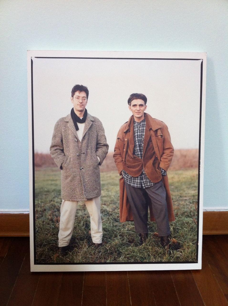 Giovanni Lindo Ferretti e Massimo Zamboni dei CCCP in una foto di Fabrizio Cicconi - www.gorgonia.it