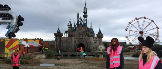 Dismaland workers - Carefully selected by Gorgonia www.gorgonia.it