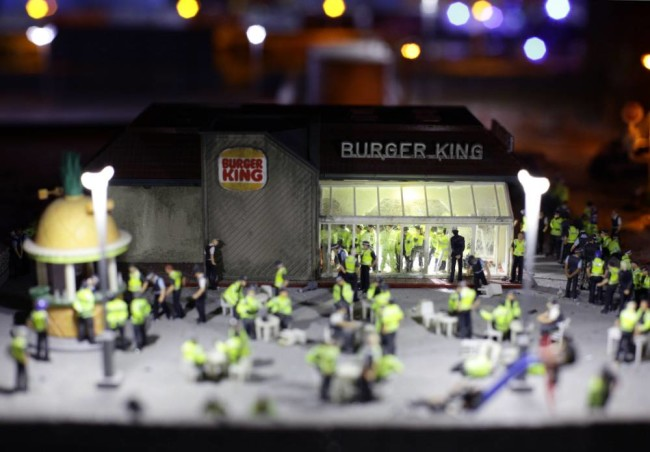 Artwork by Jimmy Cauty at Banksy's Dismaland - Carefully selected by Gorgonia www.gorgonia.it