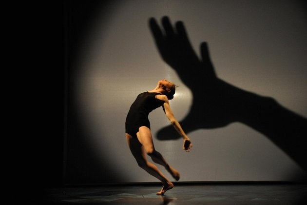 Hands shadows theater by French choreographer Philippe Decoufle  - Carefully selected by Gorgonia www.gorgonia.it