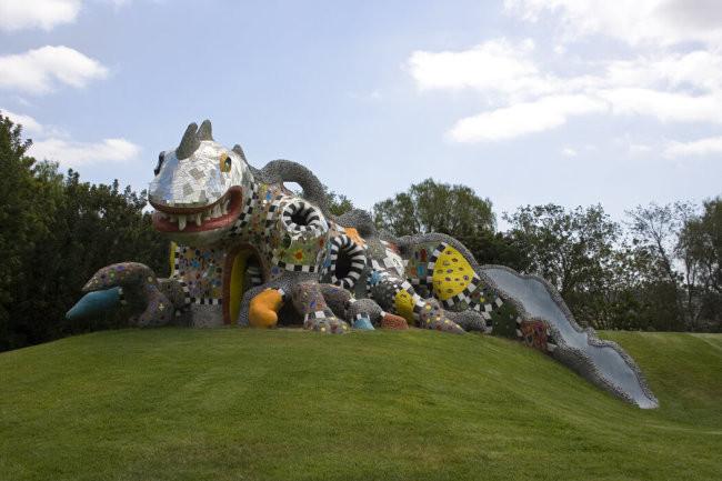 Gila: la casa-lucertola di Niki de Saint Phalle per Cindy Pritzker - Carefully selected by Gorgonia www.gorgonia.it